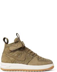 Botas de ante marrón claro de Nike