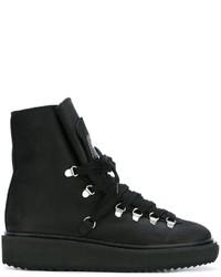 Botas de ante negras de Kenzo