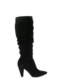 Botas de caña alta de ante negras de Kennel + Schmenger