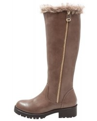 Botas de caña alta de cuero marrónes de Anna Field