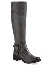 Botas de cana alta en gris oscuro original 2177367