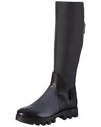 Botas de caña alta en gris oscuro de A.S.98