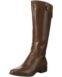 Botas de caña alta en marrón oscuro de Tamaris
