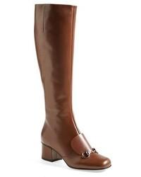 Botas de cana alta marrones original 1549005