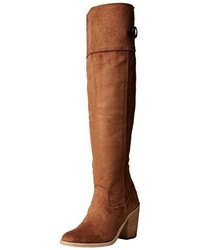 Botas de caña alta marrónes de Dorothy Perkins