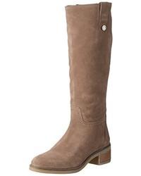 Botas de caña alta marrónes de Tommy Hilfiger