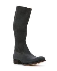 Botas de caña alta negras