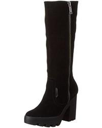 Botas de caña alta negras de Calvin Klein Jeans