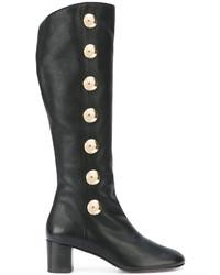 Botas de caña alta negras de Chloé