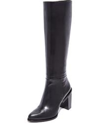 Botas de caña alta negras de DKNY
