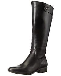Botas de caña alta negras de Tamaris
