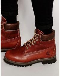 c54062ab40f Comprar unas botas de cuero en tabaco Timberland de Asos | Moda para ...