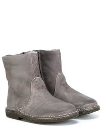 Botas de cuero grises de Pépé