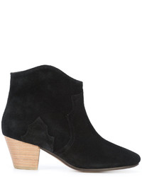 Botas de cuero negras de Isabel Marant