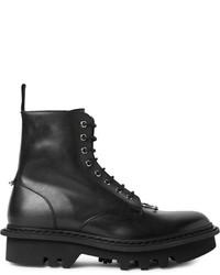 Botas de cuero negras de Neil Barrett