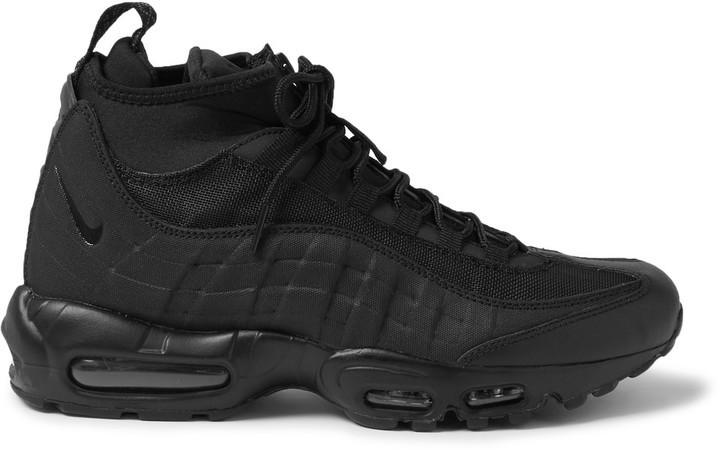 para toda la familia obtener nueva 60% de descuento €182, Botas de cuero negras de Nike