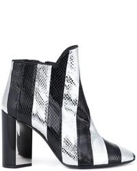 Botas de cuero negras de Pierre Hardy