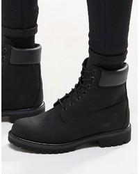63740046695 Comprar unas botas de cuero negras Timberland de Asos | Moda para ...