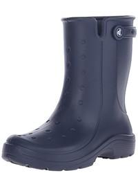 Botas de lluvia azules de Crocs