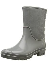 Botas de lluvia grises de Calvin Klein Jeans