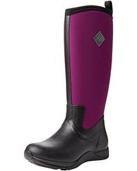 Botas de lluvia morado oscuro de Muck Boot