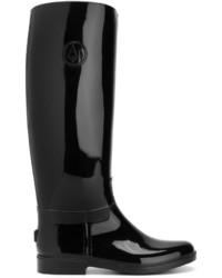 Botas de lluvia negras de Armani Jeans