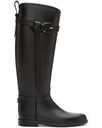 Botas de lluvia negras de Burberry