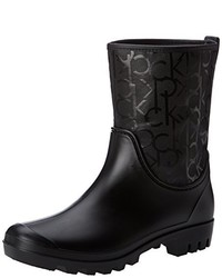 Botas de lluvia negras de Calvin Klein Jeans