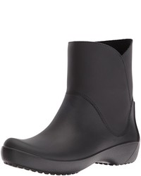 Botas de lluvia negras de Crocs