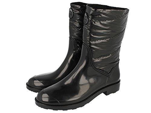Botas de lluvia negras de Gioseppo