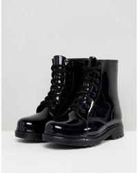 Botas de lluvia negras de Glamorous