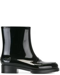 Botas de lluvia negras de Kartell