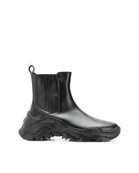 Botas de Lluvia Negras de N°21