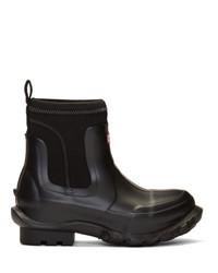 Botas de lluvia negras de Stella McCartney