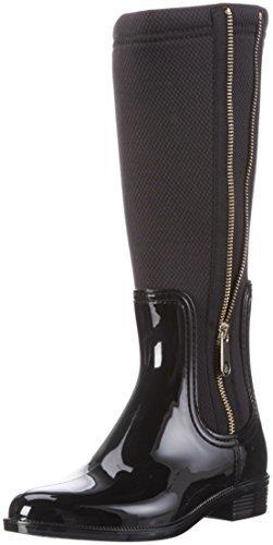 estilo distintivo nueva estilos gama completa de especificaciones Botas de lluvia negras de Tommy Hilfiger