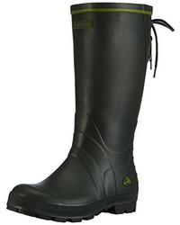 Botas de lluvia verde oscuro de Viking