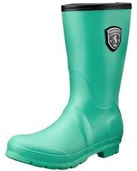 Botas de lluvia verdes