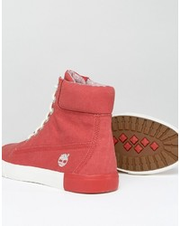Botas rojas de Timberland, €172 | Asos | Lookastic España