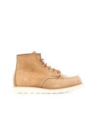 Botas de Trabajo de Ante Marrón Claro de Red Wing Shoes