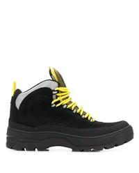 Botas de trabajo de ante negras de Tommy Jeans