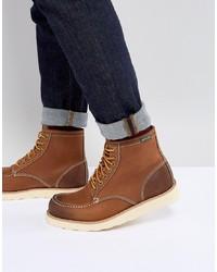 Botas de trabajo de cuero marrónes de Eastland