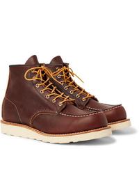 Botas de trabajo de cuero marrónes de Red Wing Shoes
