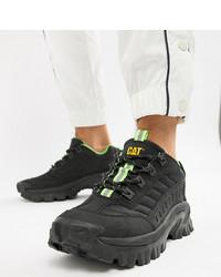 Botas de trabajo de cuero negras de CAT Footwear