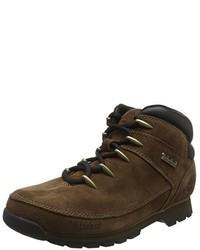 Botas de trabajo en marrón oscuro de Timberland