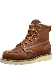 Botas de trabajo marrón claro
