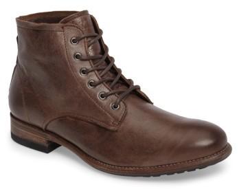 Botas formales de de cuero en marrón oscuro de formales Negrostone: dónde be4cff