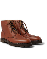 Botas formales de cuero marrónes de John Lobb