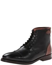 Botas formales de cuero negras