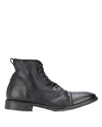 Botas formales de cuero negras de John Varvatos