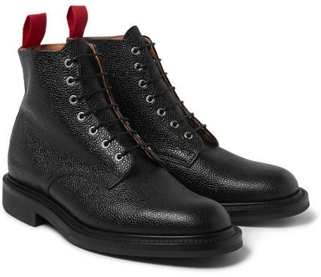 ... Botas formales de cuero negras de Oliver Spencer ... ba697d181b19f